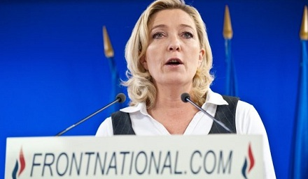 Marine Le Pen has far more in common with the nationalist tradition that won the Brexit vote and elected Donald Trump. (Facebook)