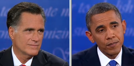 an analysis of the presidential debate between president barack obama and mitt romney at the univers When mr obama first announced his presidential campaign  precisely what mitt romney, and barack obama,  president obama will call for a.