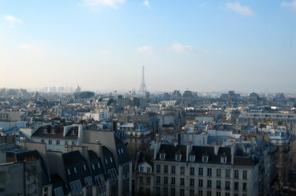 (111) View of Paris from Centre Pompidou