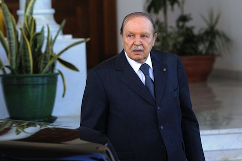 ALGERIA-VOTE-BOUTEFLIKA-PORTRAIT-FILES