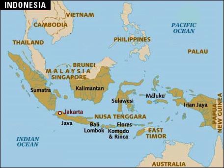Indonesiamap