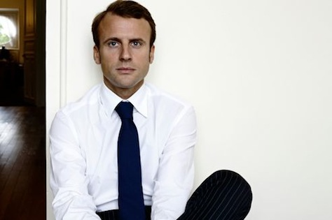 Emmanuel Macron is a fresh-faced 'reformer' of the center-left running as an independent in 2017. (Facebook)