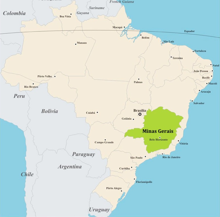 Minas-Gerais-Map
