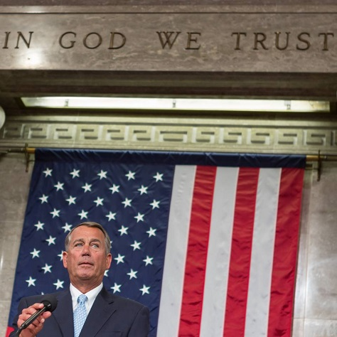 John Boehner, the Speaker of the US House of Representatives will step down and resign from Congress at the end of October. (Facebook)