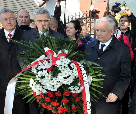 The outspoken former prime minister Jarosław Kaczyński has been trying to return to power for eight years. (Facebook)