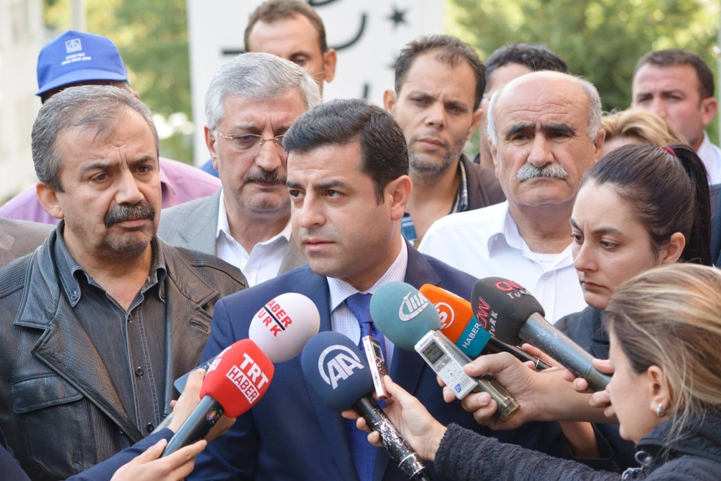 Selahattin Demirtaş, a Kurdish human rights attorney who leads the Kurdish-interest HDP, blamed the government for stoking tensions that led to the Ankara bombings. (Facebook)