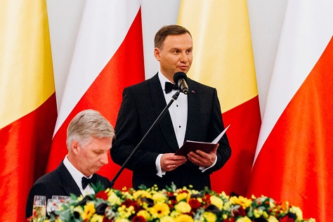 The youthful conservative Andzrej Duda won Poland's presidency in a surprise upset in May. (Facebook)
