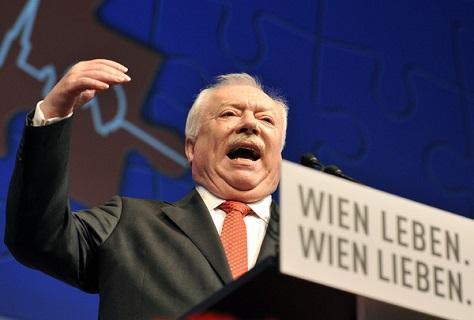 Vienna's Social Democratic mayor, Michael Häupl, has held power since 1994. (Hans Punz/aPA)
