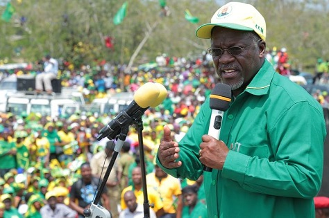 John Magufuli, an unassuming, technocratic public works minister, is the dark-horse candidate of Tanzania's ruling CCM. (Facebook)