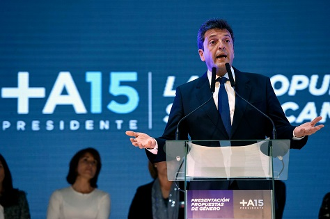 Tigre mayor and former Kirchner ally Sergio Massa could now become the kingmaker in Argentina's presidential runoff. (Facebook)