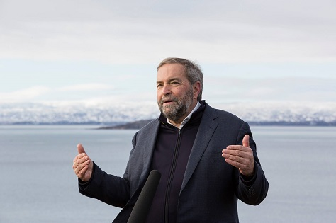 After next week's election, polls show that Thomas Mulcair will not only fall short of becoming prime minister; he may no longer be the official opposition leader. (Facebook)