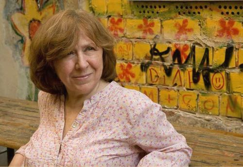 Svetlana Alexievich, a Belorussian and nonfiction writer, won the Nobel Prize for Literature on Thursday.