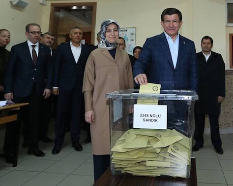 Prime minister Ahmet Davutoğlu is now set to lead a majority government in Turkey. (Facebook).