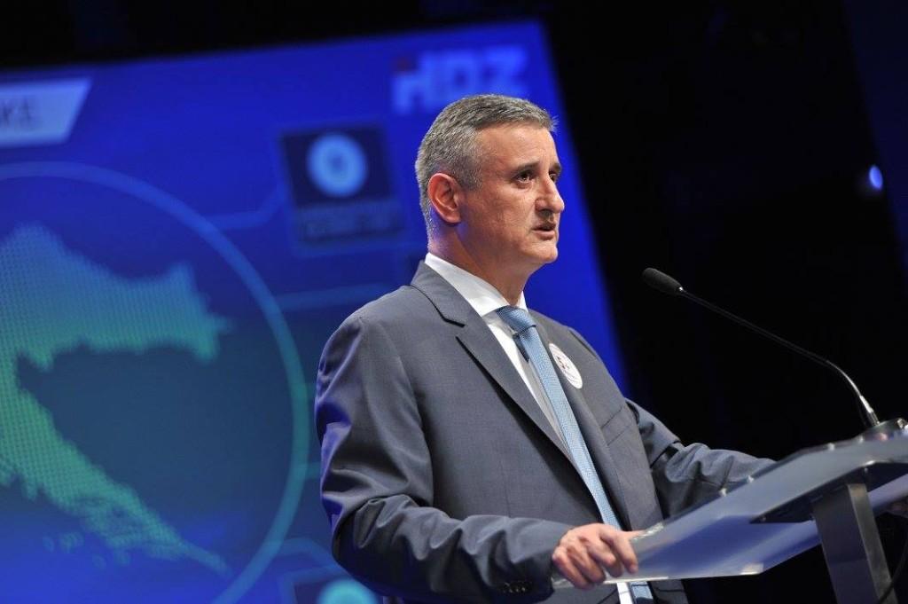 Former intelligence chief Tomislav Karamarko hopes to become the next HDZ prime minister. (Facebook)