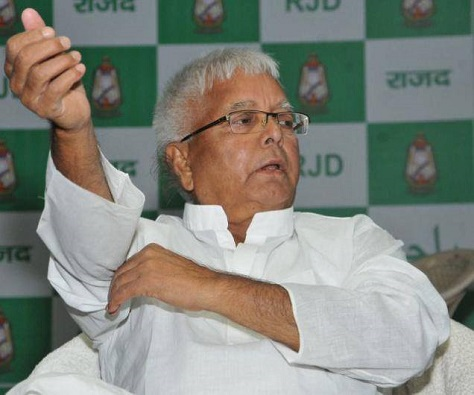 Former chief minister Lalu Prasad Yadav helped deliver a victory against Modi -- but at what price? (Facebook)