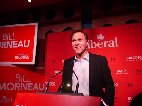 Bill Morneau, a former Toronto executive, will be Canada's new finance minister. (Facebook)