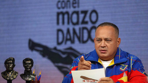 Diosdado Cabello, who currently serves as the president of Venezuela's National Assembly, is the chavista to watch after the Dec. 6 elections.