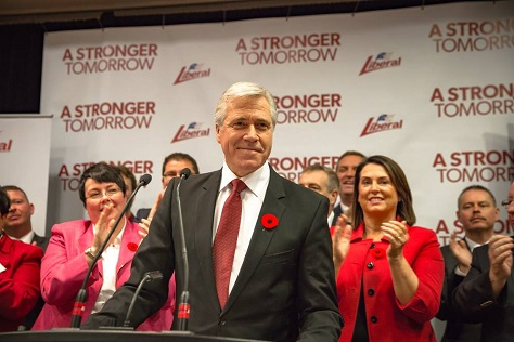 Liberal leader Dwight Ball will become the 13th premier of the province of Newfoundland and Labrador.