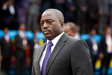Joseph Kabila is set to run for a controversial reelection in the Democratic Republic of the Congo. (Gwenn Dubourthoumieu / AFP)