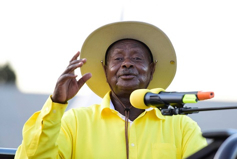 Yoweri Museveni has been president of Uganda since 1986, and he seems certain to win reelection in 2016. (Facebook)