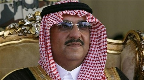 Saudi Arabia's crown prince, the 55-year-old Muhammad bin Nayef, is next in line to control the Saudi absolute monarchy -- an ascension that will not be subject to a vote by either Saudi men or Saudi women.