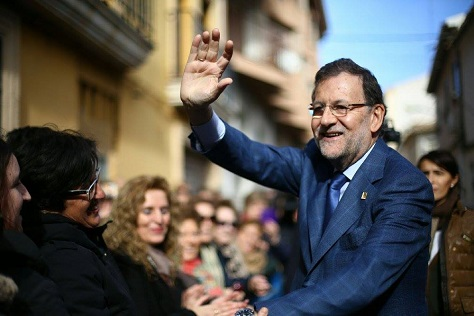 Prime minister Mariano Rajoy steered Spain away from a humiliating bailout over the last four years, but at a high economic and social cost. (Facebook)