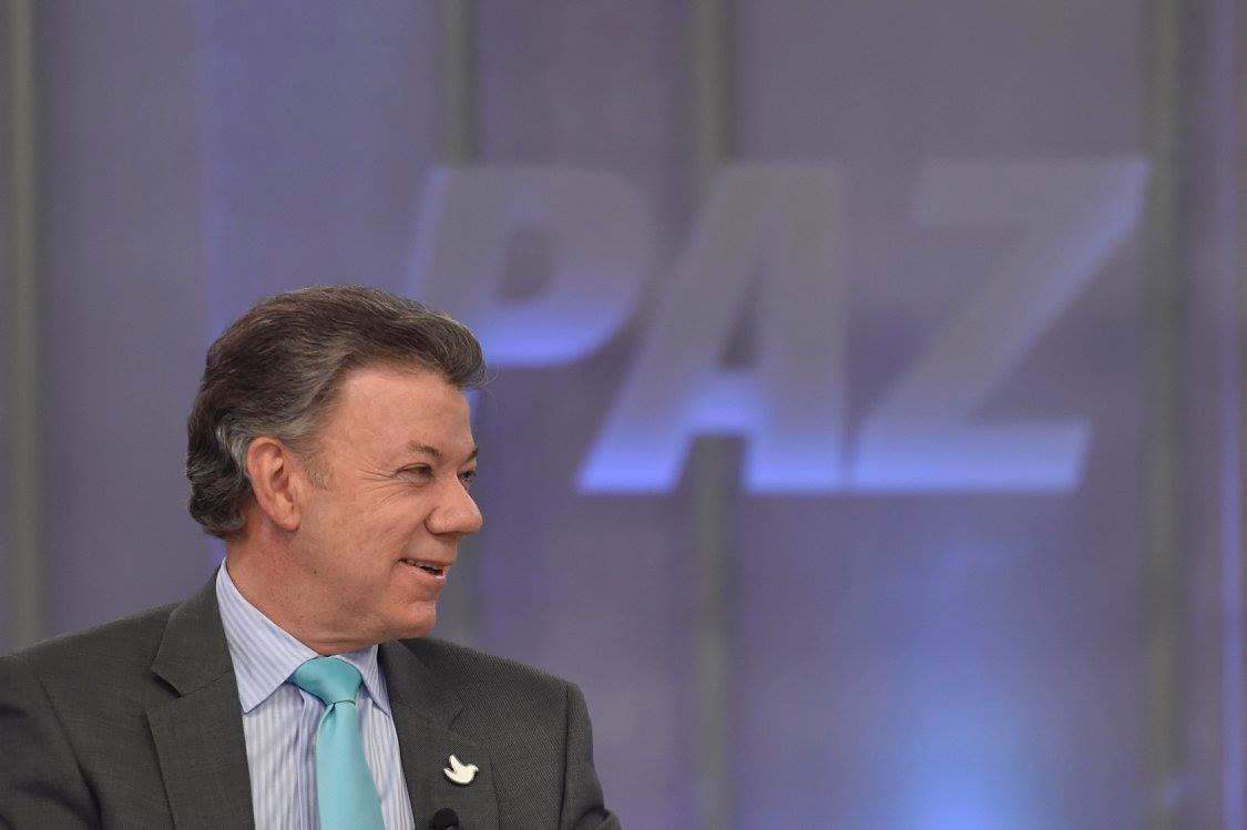 Juan Manuel Santos has staked his presidency and his legacy on peace talks between the Colombian government and the FARC rebels. (Facebook)