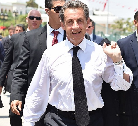 Former president Nicolas Sarkozy hopes to reclaim power in 2017, but he'll first have to win the center-right's nomination. (Facebook)