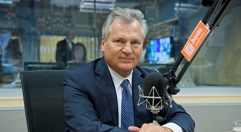 Former president Aleksander Kwaśniewski, who left office in 2005, hasn't successfully rallied Poland's left. (Polskie Radio)