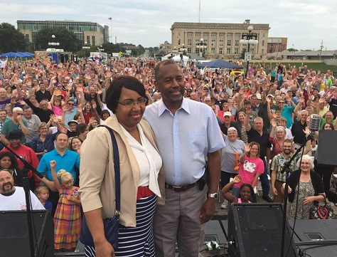 Ben Carson, a retired neurosurgeon who vaunted to the top of Iowa's polls over the summer, still hopes the caucuses will propel him to victory. (Facebook)