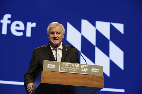 The future of the German right might belong to officials like Bavarian leader Horst Seehofer, who has criticized chancellor Angela Merkel over refugee policy. (Facebook)