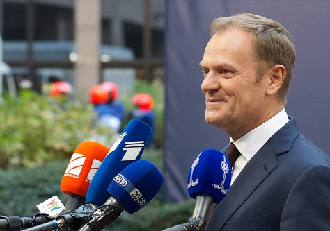 Poland's new government may ultimately block former prime minister Donald Tusk's reappointment in 2017 as the European Council's president. (Facebook)