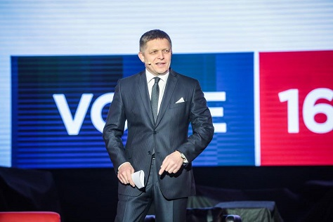 Despite prime minister Robert Fico's increasingly strident anti-immigration line, a minority of Slovakian voters turned to a virtually neo-Nazi party in March 5 elections. (Facebook)