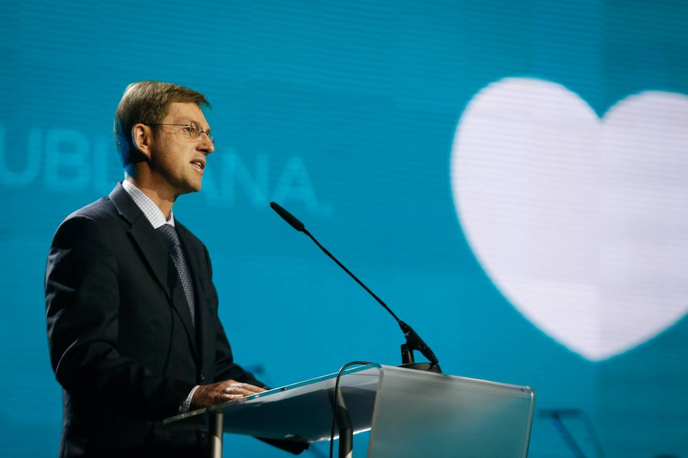 Attorney and professor Miro Cerar, a political outsider like Donald Trump, won Slovenia's 2014 parliamentary elections. (Facebook)