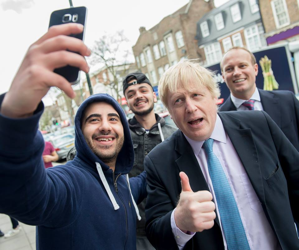 London mayor Boris Johnson is the most high-profile supporter of his country leaving the European Union. (Facebook)