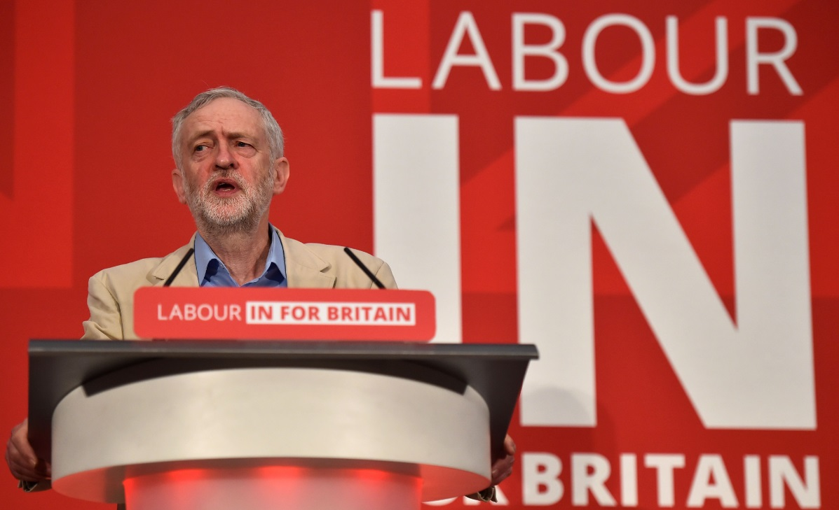 Labour leader Jeremy Corbyn has been slow to embrace the campaign to reject Brexit.