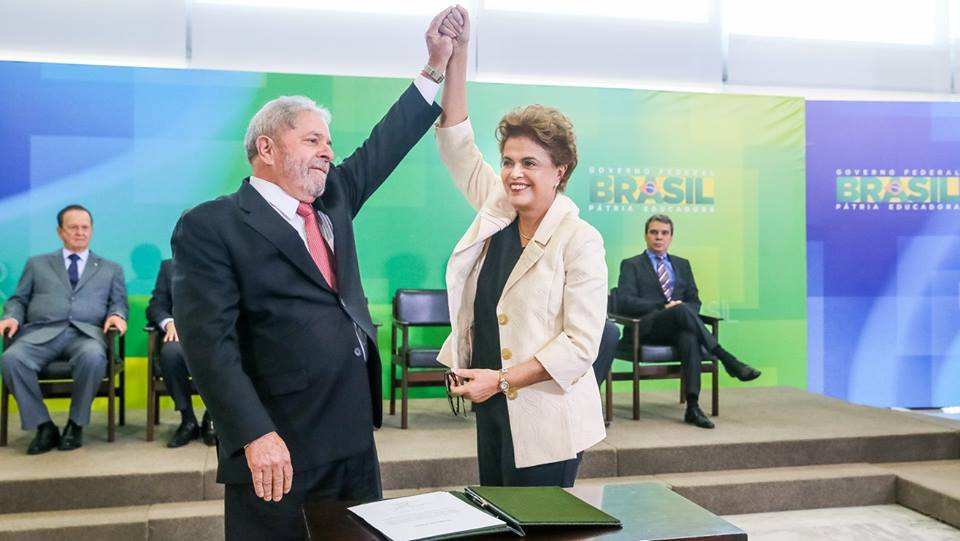 The legacies of Lula and Dilma are now bound together through the high-stake impeachment process. (Facebook)