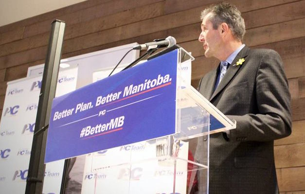 Brian Pallister, a former legislator in the House of Commons, will be the first conservative premier of Manitoba since 1999. (Facebook)