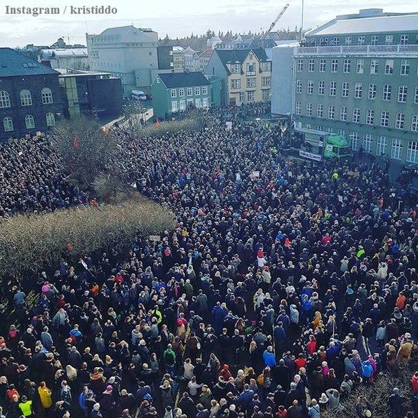 Widespread protests forced Iceland's prime minister Sigmundur Davíð Gunnlaugsson to resign within 48 hours of the Panama Papers release.