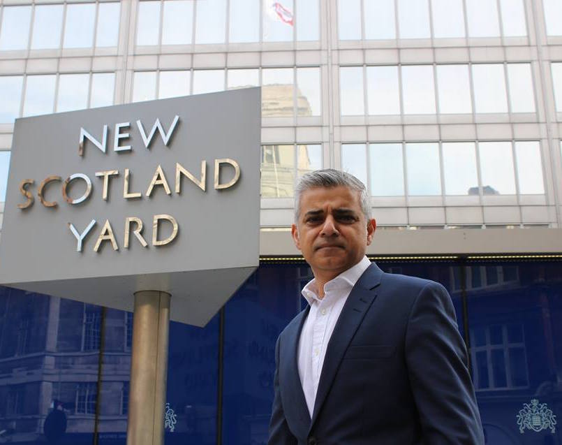 Sadiq Khan, a Labour MP and the son of Pakistani immigrants, leads polls to become London's next mayor. (Facebook)