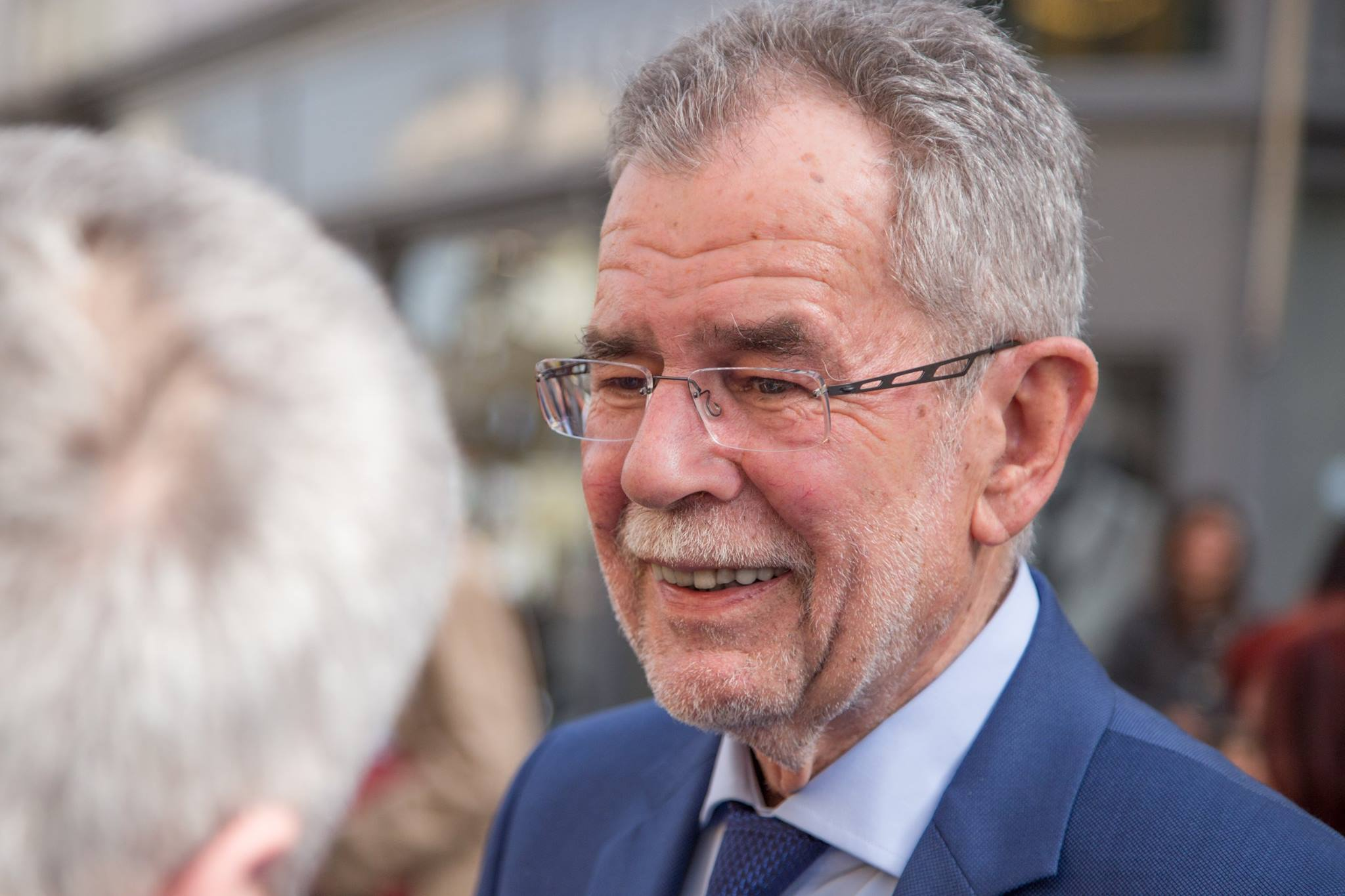 Independent challenger Alexander Van der Bellen, a former spokesman for Austrian's Greens, hopes to surpass the Freedom Party in a May 22 runoff. (Facebook)