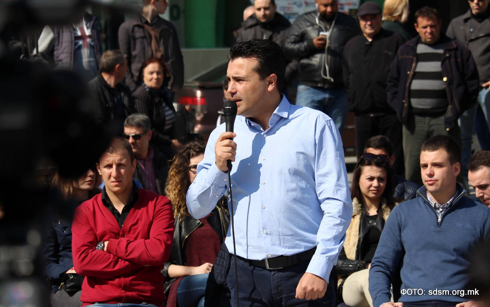 Macedonia opposition leader Zoran Zaev stands an excellent chance of winning power in elections that may still be held on June 5. (Facebook)
