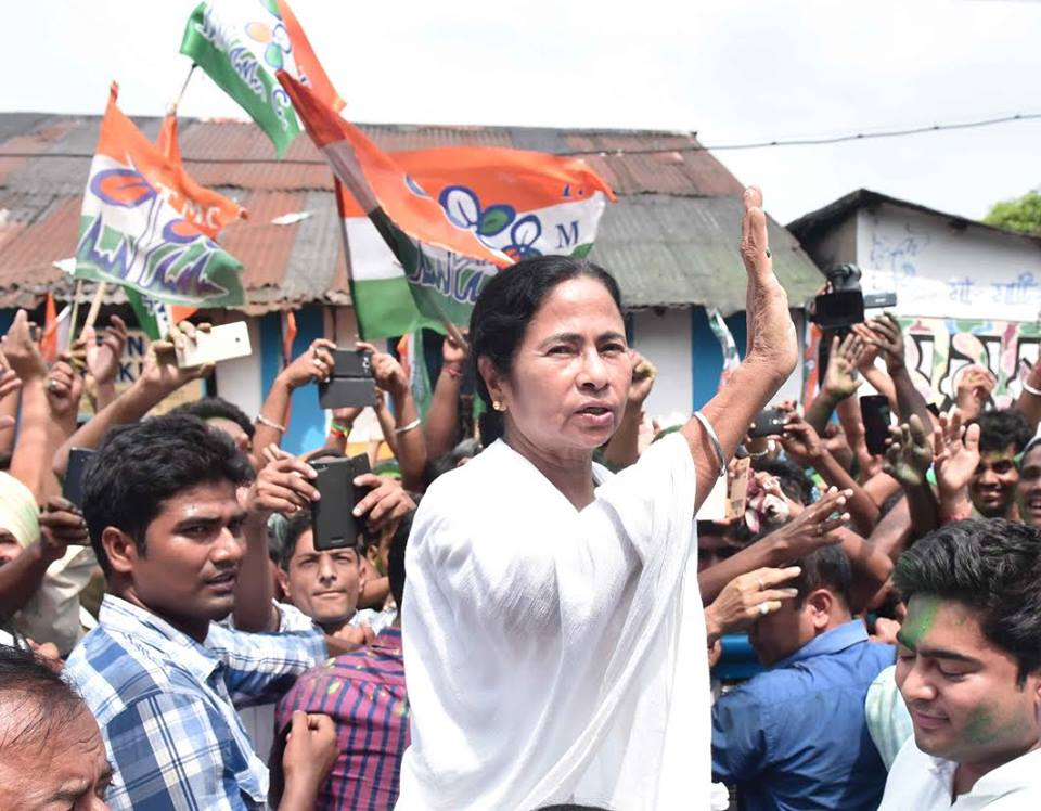 Mamata Banerjee won a second term as chief minister of West Bengal, despite her failure to stem corruption. (Facebook)