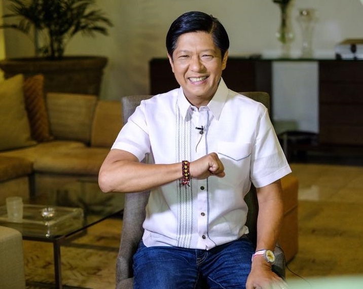 Ferdinand 'BongBong' Marcos, Jr., the son of the former Philippine strongman, is trailing in vote counts. (Facebook)