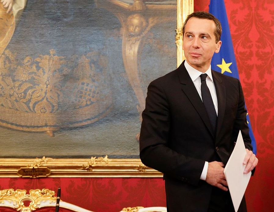 Austria's new chancellor, the technocratic Christian Kern, hopes to pass a series of major jobs-boosting reforms before 2018. (Facebook)