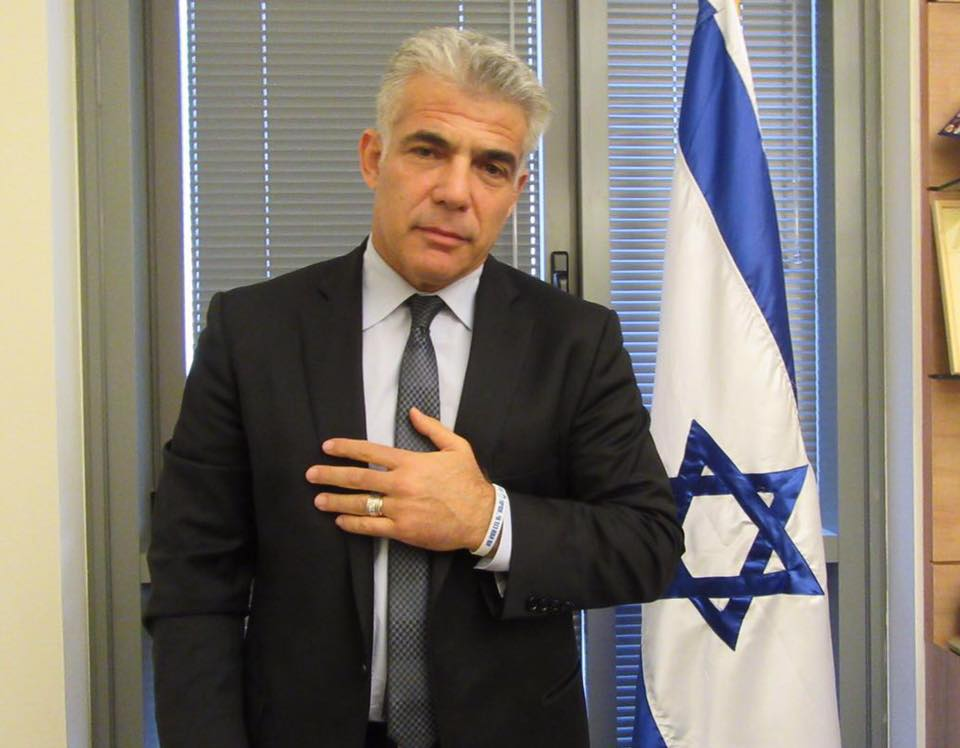 Though Israel may not return to the polls until November 2019, polls show that the electorate increasingly sees Yair Lapid as a potential prime minister. (Facebook)