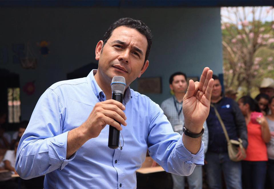Donald Trump might be the Jimmy Morales of the United States, not Silvio Berlusconi.