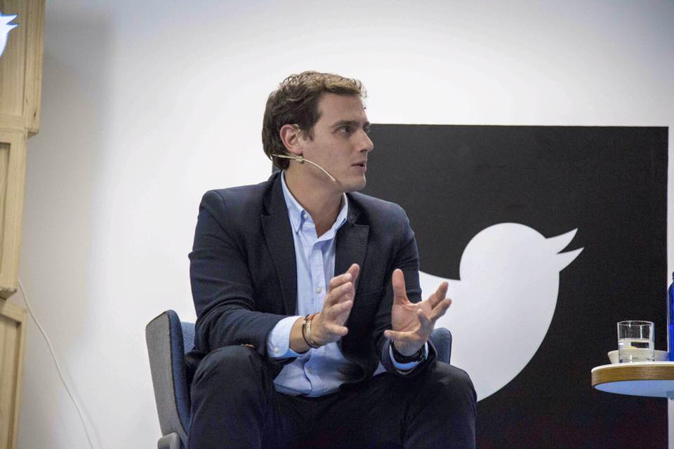 Albert Rivera, along among Spain's major party leaders, has been opening to working with all of his political rivals. (Facebook)
