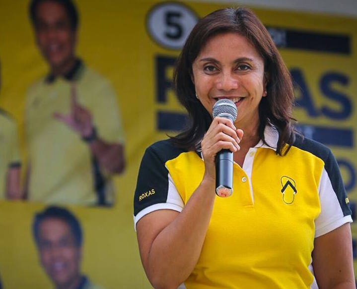 Lena Robredo of the governing Liberal Party is emerging as the winner of the Philippine vice presidential contest. (Facebook)