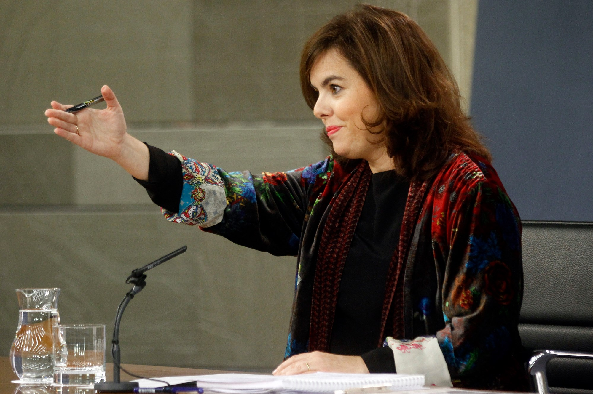 If other parties refuse to work with prime minister Mariano Rajoy, they could find his deputy prime minister, the younger and more urbane Soraya Sáenz de Santamaría more palatable. (Facebook)